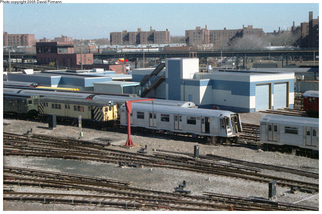 (257k, 1044x696)<br><b>Country:</b> United States<br><b>City:</b> New York<br><b>System:</b> New York City Transit<br><b>Location:</b> Coney Island Yard<br><b>Car:</b> R-40 (St. Louis, 1968)  4259 <br><b>Photo by:</b> David Pirmann<br><b>Date:</b> 2/24/1996<br><b>Viewed (this week/total):</b> 1 / 2222