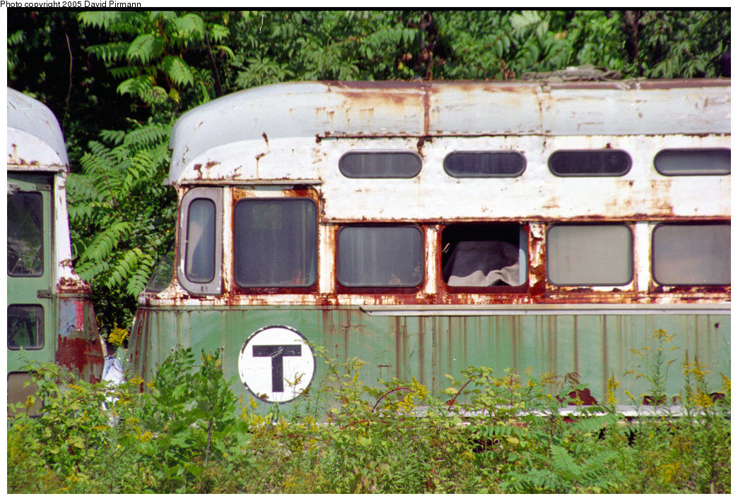 (280k, 1044x710)<br><b>Country:</b> United States<br><b>City:</b> Kingston, NY<br><b>System:</b> Trolley Museum of New York <br><b>Car:</b> MBTA/BSRy PCC Post-War All Electric (Pullman-Standard, 1946)  3216 <br><b>Photo by:</b> David Pirmann<br><b>Date:</b> 8/1996<br><b>Viewed (this week/total):</b> 5 / 2275