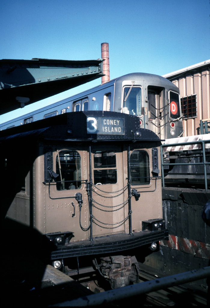 (218k, 699x1024)<br><b>Country:</b> United States<br><b>City:</b> New York<br><b>System:</b> New York City Transit<br><b>Location:</b> Coney Island/Stillwell Avenue<br><b>Route:</b> Fan Trip<br><b>Car:</b> BMT D-Type Triplex  <br><b>Photo by:</b> Chris Leverett<br><b>Date:</b> 12/8/1996<br><b>Viewed (this week/total):</b> 2 / 3167