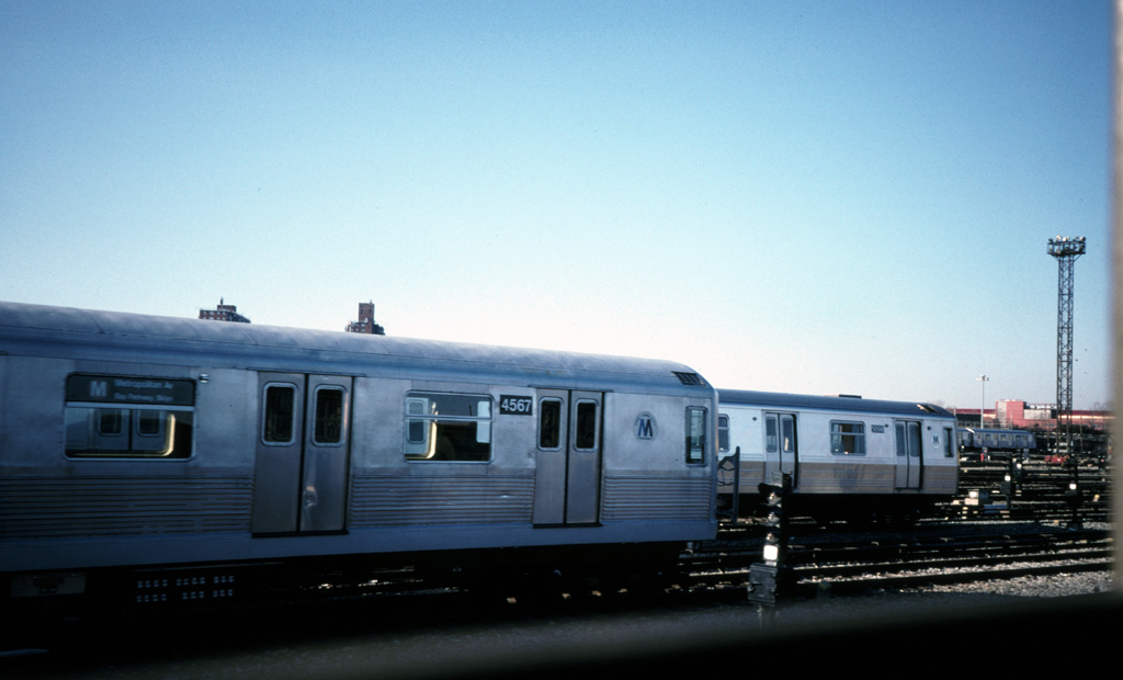 (154k, 1024x620)<br><b>Country:</b> United States<br><b>City:</b> New York<br><b>System:</b> New York City Transit<br><b>Location:</b> Coney Island Yard<br><b>Car:</b> R-42 (St. Louis, 1969-1970)  4567 <br><b>Photo by:</b> Chris Leverett<br><b>Date:</b> 12/8/1996<br><b>Viewed (this week/total):</b> 2 / 1955