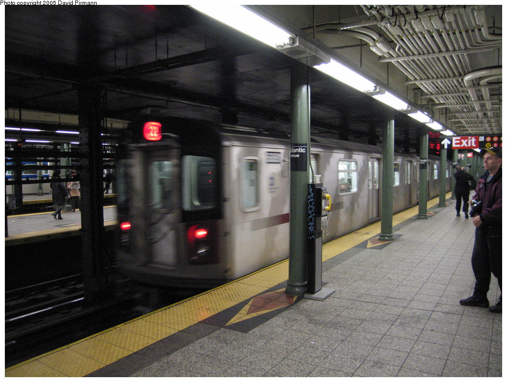 (193k, 1044x788)<br><b>Country:</b> United States<br><b>City:</b> New York<br><b>System:</b> New York City Transit<br><b>Line:</b> IRT Brooklyn Line<br><b>Location:</b> Atlantic Avenue <br><b>Route:</b> 2<br><b>Car:</b> R-142 (Primary Order, Bombardier, 1999-2002)  6881 <br><b>Photo by:</b> David Pirmann<br><b>Date:</b> 12/30/2005<br><b>Viewed (this week/total):</b> 0 / 4709