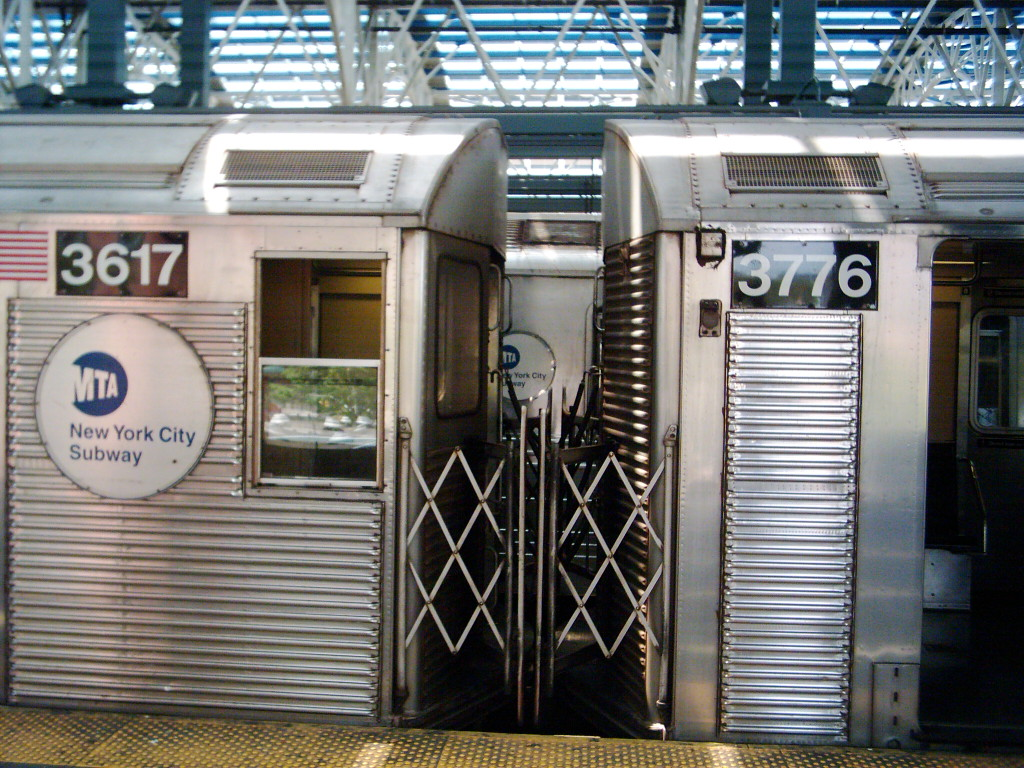 (290k, 1024x768)<br><b>Country:</b> United States<br><b>City:</b> New York<br><b>System:</b> New York City Transit<br><b>Location:</b> Coney Island/Stillwell Avenue<br><b>Route:</b> N<br><b>Car:</b> R-32 (Budd, 1964)  3776 <br><b>Photo by:</b> Michael Hodurski<br><b>Date:</b> 8/2005<br><b>Notes:</b> Note mismated with 3617.<br><b>Viewed (this week/total):</b> 3 / 2338