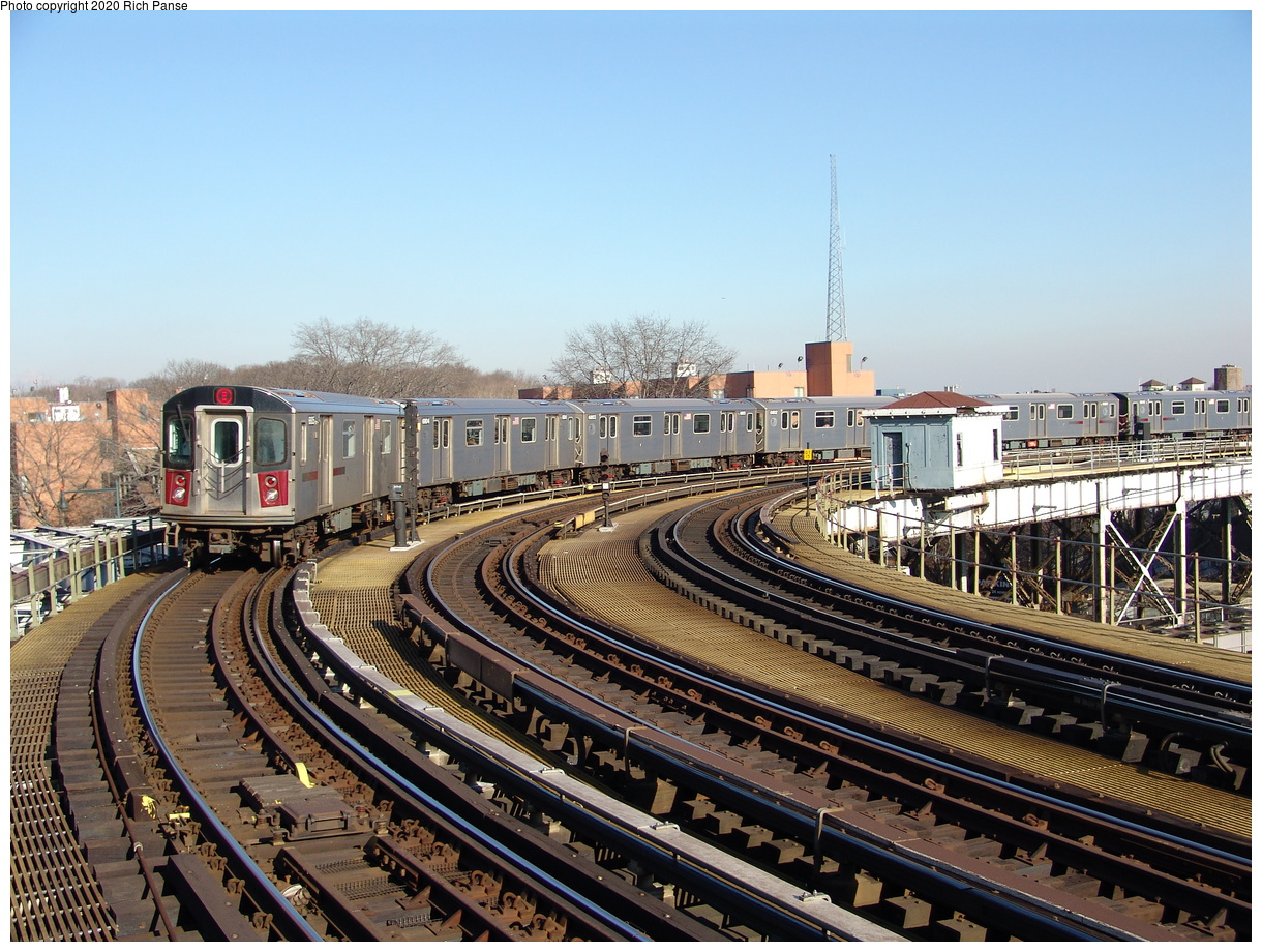 (285k, 1044x788)<br><b>Country:</b> United States<br><b>City:</b> New York<br><b>System:</b> New York City Transit<br><b>Line:</b> IRT White Plains Road Line<br><b>Location:</b> West Farms Sq./East Tremont Ave./177th St. <br><b>Route:</b> 2<br><b>Car:</b> R-142 (Primary Order, Bombardier, 1999-2002)  6805 <br><b>Photo by:</b> Richard Panse<br><b>Date:</b> 1/24/2006<br><b>Viewed (this week/total):</b> 0 / 3693