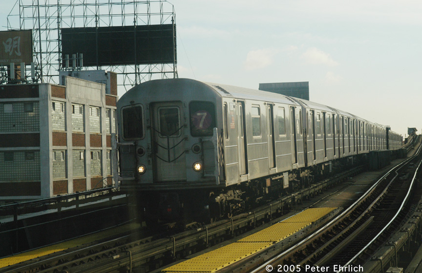 (179k, 864x559)<br><b>Country:</b> United States<br><b>City:</b> New York<br><b>System:</b> New York City Transit<br><b>Line:</b> IRT Flushing Line<br><b>Location:</b> 33rd Street/Rawson Street <br><b>Route:</b> 7<br><b>Car:</b> R-62A (Bombardier, 1984-1987)  1726 <br><b>Photo by:</b> Peter Ehrlich<br><b>Date:</b> 12/30/2005<br><b>Viewed (this week/total):</b> 6 / 1720