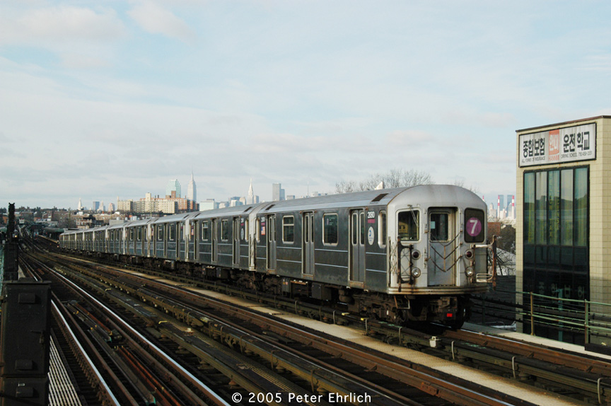 (177k, 864x574)<br><b>Country:</b> United States<br><b>City:</b> New York<br><b>System:</b> New York City Transit<br><b>Line:</b> IRT Flushing Line<br><b>Location:</b> 74th Street/Broadway <br><b>Route:</b> 7<br><b>Car:</b> R-62A (Bombardier, 1984-1987)  2090 <br><b>Photo by:</b> Peter Ehrlich<br><b>Date:</b> 12/30/2005<br><b>Viewed (this week/total):</b> 0 / 1406