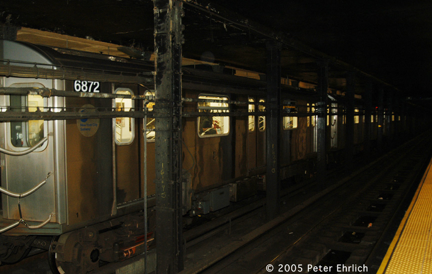 (167k, 864x548)<br><b>Country:</b> United States<br><b>City:</b> New York<br><b>System:</b> New York City Transit<br><b>Line:</b> IRT Brooklyn Line<br><b>Location:</b> Atlantic Avenue <br><b>Route:</b> 5<br><b>Car:</b> R-142 (Primary Order, Bombardier, 1999-2002)  6872 <br><b>Photo by:</b> Peter Ehrlich<br><b>Date:</b> 12/30/2005<br><b>Viewed (this week/total):</b> 0 / 4691