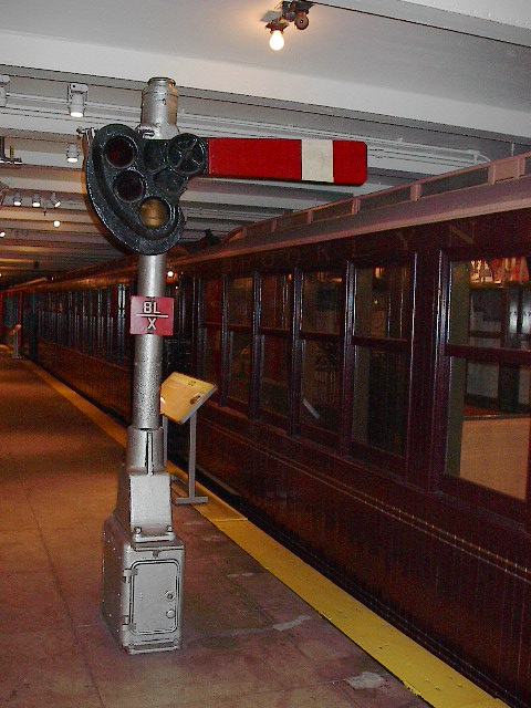 (94k, 480x640)<br><b>Country:</b> United States<br><b>City:</b> New York<br><b>System:</b> New York City Transit<br><b>Location:</b> New York Transit Museum<br><b>Car:</b> BMT Elevated Gate Car 1407 <br><b>Photo by:</b> Bruce Fedow<br><b>Date:</b> 12/28/2005<br><b>Viewed (this week/total):</b> 0 / 2529