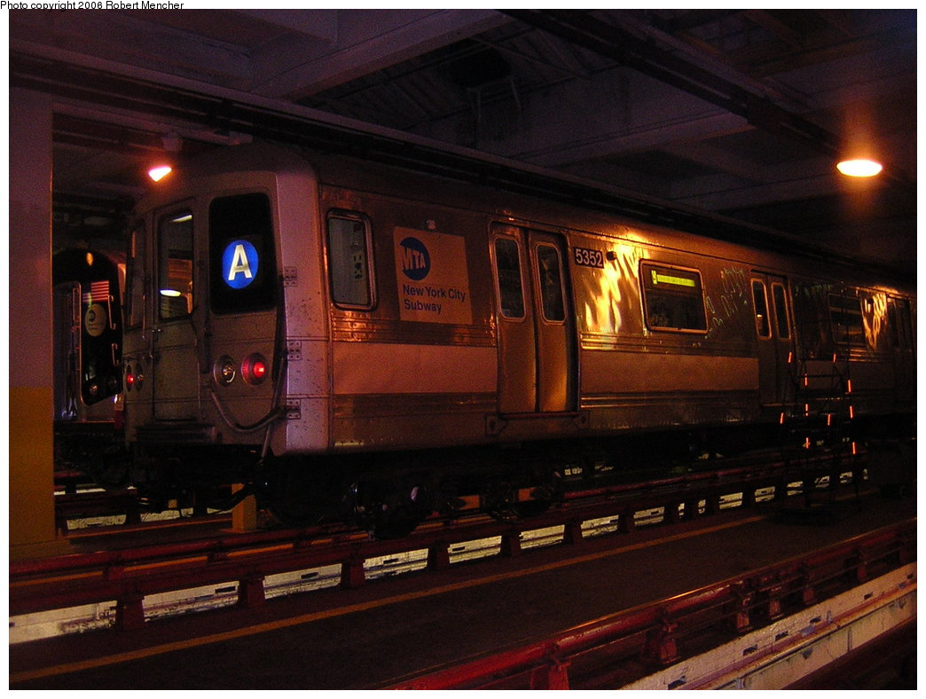 (195k, 1044x788)<br><b>Country:</b> United States<br><b>City:</b> New York<br><b>System:</b> New York City Transit<br><b>Location:</b> Pitkin Yard/Shops<br><b>Car:</b> R-44 (St. Louis, 1971-73) 5352 <br><b>Photo by:</b> Robert Mencher<br><b>Date:</b> 3/25/2006<br><b>Viewed (this week/total):</b> 1 / 3939