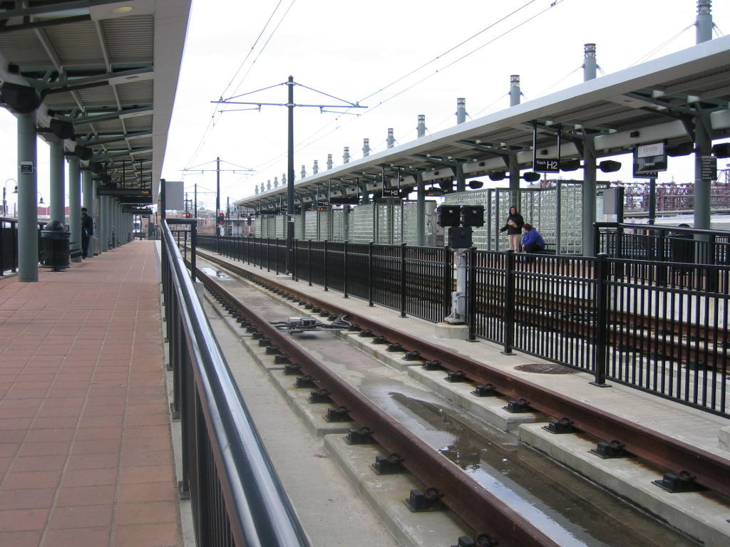 (134k, 1024x768)<br><b>Country:</b> United States<br><b>City:</b> Hoboken, NJ<br><b>System:</b> Hudson Bergen Light Rail<br><b>Location:</b> Hoboken <br><b>Photo by:</b> Jeremy Whiteman<br><b>Date:</b> 4/4/2006<br><b>Viewed (this week/total):</b> 0 / 1092