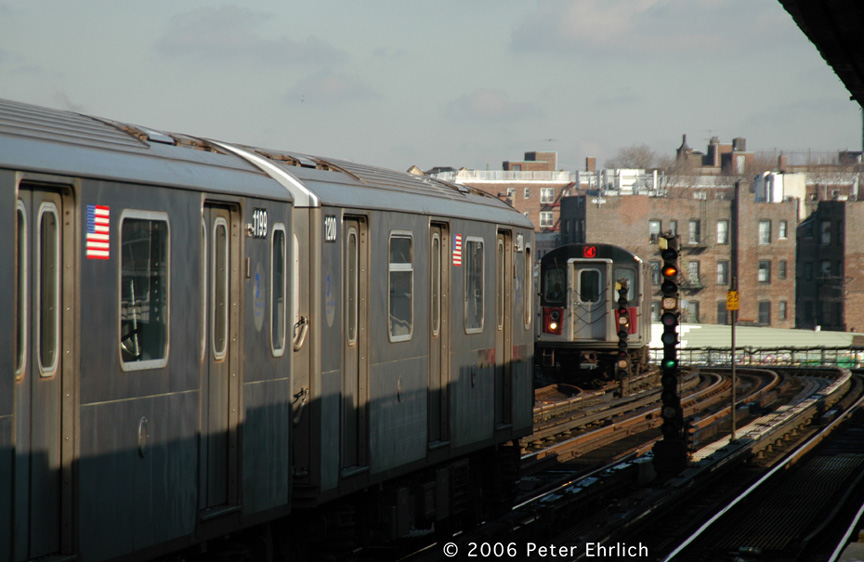(155k, 864x562)<br><b>Country:</b> United States<br><b>City:</b> New York<br><b>System:</b> New York City Transit<br><b>Line:</b> IRT Woodlawn Line<br><b>Location:</b> Bedford Park Boulevard <br><b>Car:</b> R-142 (Option Order, Bombardier, 2002-2003)  1200 <br><b>Photo by:</b> Peter Ehrlich<br><b>Date:</b> 1/24/2006<br><b>Viewed (this week/total):</b> 1 / 3943