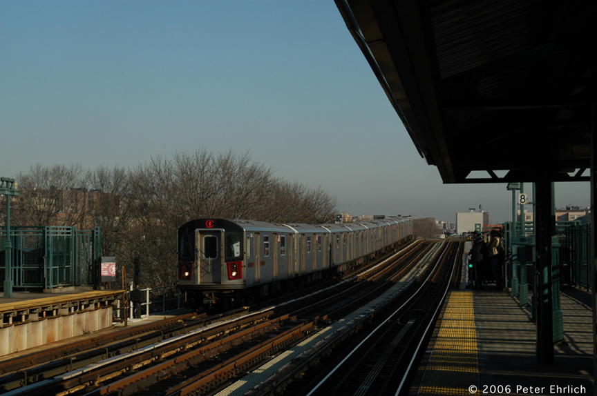 (159k, 864x574)<br><b>Country:</b> United States<br><b>City:</b> New York<br><b>System:</b> New York City Transit<br><b>Line:</b> IRT Woodlawn Line<br><b>Location:</b> 161st Street/River Avenue (Yankee Stadium) <br><b>Car:</b> R-142 (Option Order, Bombardier, 2002-2003)  1246 <br><b>Photo by:</b> Peter Ehrlich<br><b>Date:</b> 1/24/2006<br><b>Viewed (this week/total):</b> 2 / 2880