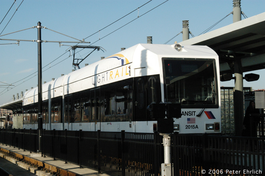 (175k, 864x574)<br><b>Country:</b> United States<br><b>City:</b> Hoboken, NJ<br><b>System:</b> Hudson Bergen Light Rail<br><b>Location:</b> Hoboken <br><b>Car:</b> NJT-HBLR LRV (Kinki-Sharyo, 1998-99)  2015 <br><b>Photo by:</b> Peter Ehrlich<br><b>Date:</b> 1/25/2006<br><b>Viewed (this week/total):</b> 0 / 991