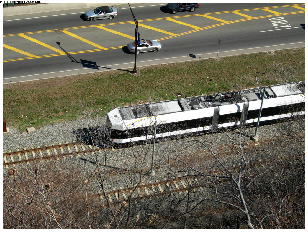 (353k, 1044x788)<br><b>Country:</b> United States<br><b>City:</b> Weehawken, NJ<br><b>System:</b> Hudson Bergen Light Rail<br><b>Location:</b> Port Imperial <br><b>Photo by:</b> Mike Jiran<br><b>Date:</b> 4/2/2006<br><b>Viewed (this week/total):</b> 0 / 1427