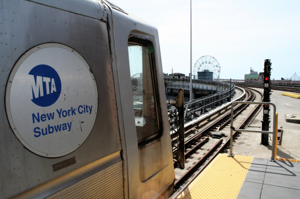(169k, 1024x682)<br><b>Country:</b> United States<br><b>City:</b> New York<br><b>System:</b> New York City Transit<br><b>Location:</b> Coney Island/Stillwell Avenue<br><b>Car:</b> R-40 (St. Louis, 1968)   <br><b>Photo by:</b> Todd Glickman<br><b>Date:</b> 4/16/2006<br><b>Viewed (this week/total):</b> 2 / 2627