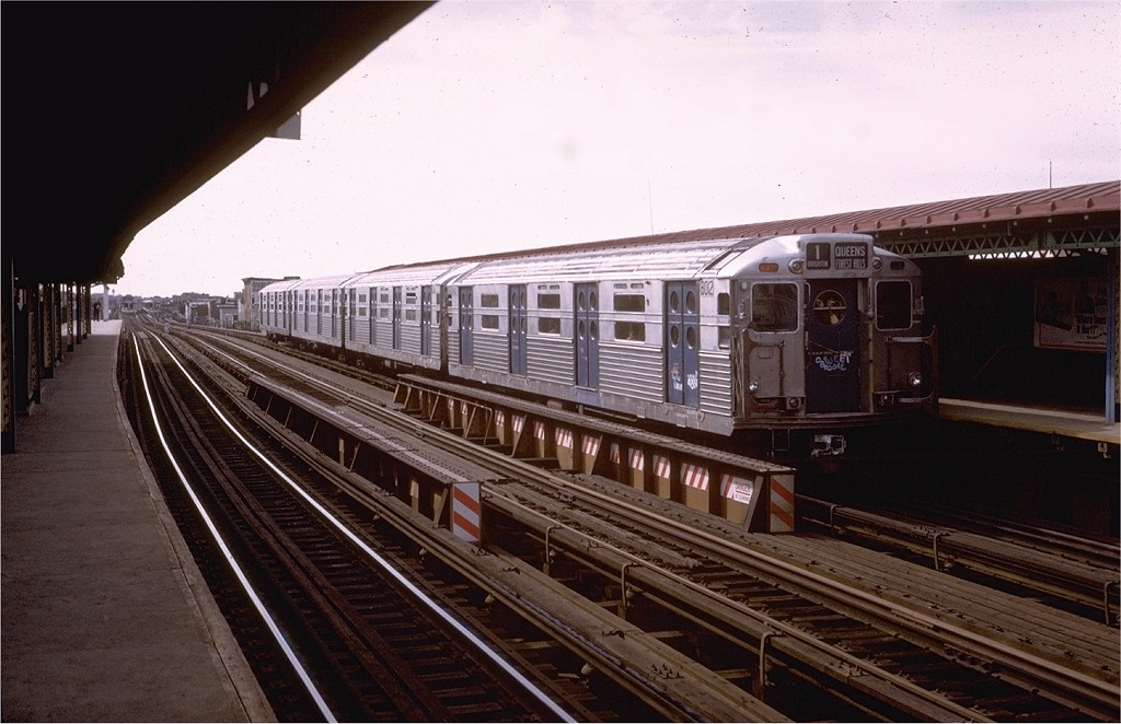 (175k, 1024x662)<br><b>Country:</b> United States<br><b>City:</b> New York<br><b>System:</b> New York City Transit<br><b>Line:</b> BMT West End Line<br><b>Location:</b> 55th Street <br><b>Route:</b> Fan Trip<br><b>Car:</b> R-11 (Budd, 1949) 8012 <br><b>Photo by:</b> Steve Zabel<br><b>Collection of:</b> Joe Testagrose<br><b>Date:</b> 10/21/1972<br><b>Viewed (this week/total):</b> 0 / 2088