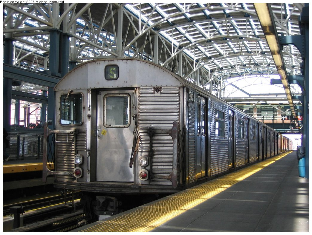 (221k, 1044x788)<br><b>Country:</b> United States<br><b>City:</b> New York<br><b>System:</b> New York City Transit<br><b>Location:</b> Coney Island/Stillwell Avenue<br><b>Route:</b> Work Service<br><b>Car:</b> R-32 (Budd, 1964)  3928 <br><b>Photo by:</b> Michael Hodurski<br><b>Date:</b> 4/21/2006<br><b>Viewed (this week/total):</b> 0 / 2781
