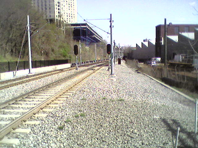 (68k, 640x480)<br><b>Country:</b> United States<br><b>City:</b> Hoboken, NJ<br><b>System:</b> Hudson Bergen Light Rail<br><b>Location:</b> Three Roads to Lincoln Harbor <br><b>Photo by:</b> Pablo Maneiro<br><b>Date:</b> 4/17/2006<br><b>Viewed (this week/total):</b> 1 / 1461