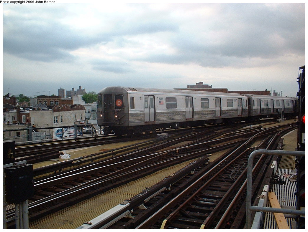 (190k, 1044x788)<br><b>Country:</b> United States<br><b>City:</b> New York<br><b>System:</b> New York City Transit<br><b>Location:</b> Coney Island/Stillwell Avenue<br><b>Route:</b> D<br><b>Car:</b> R-68 (Westinghouse-Amrail, 1986-1988)  2502 <br><b>Photo by:</b> John Barnes<br><b>Date:</b> 6/6/2006<br><b>Viewed (this week/total):</b> 4 / 2597