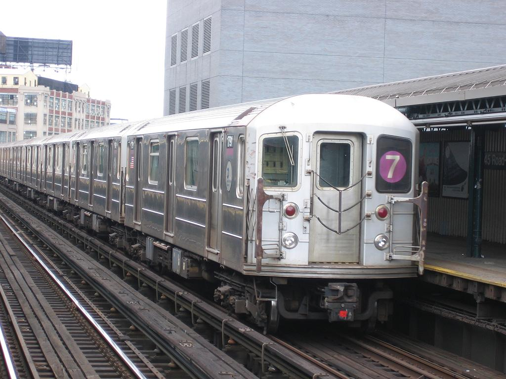 (133k, 1024x768)<br><b>Country:</b> United States<br><b>City:</b> New York<br><b>System:</b> New York City Transit<br><b>Line:</b> IRT Flushing Line<br><b>Location:</b> Court House Square/45th Road <br><b>Route:</b> 7<br><b>Car:</b> R-62A (Bombardier, 1984-1987)  1791 <br><b>Photo by:</b> Michael Hodurski<br><b>Date:</b> 6/4/2006<br><b>Viewed (this week/total):</b> 3 / 1537