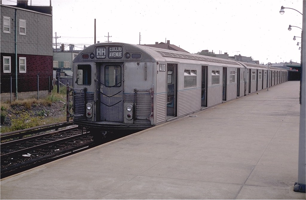 (190k, 1024x671)<br><b>Country:</b> United States<br><b>City:</b> New York<br><b>System:</b> New York City Transit<br><b>Line:</b> IND Rockaway<br><b>Location:</b> Rockaway Park/Beach 116th Street <br><b>Route:</b> HH<br><b>Car:</b> R-38 (St. Louis, 1966-1967)  4110 <br><b>Collection of:</b> Joe Testagrose<br><b>Date:</b> 9/1/1969<br><b>Viewed (this week/total):</b> 2 / 4101