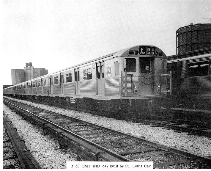 (95k, 710x575)<br><b>Country:</b> United States<br><b>City:</b> New York<br><b>System:</b> New York City Transit<br><b>Location:</b> Coney Island Yard<br><b>Car:</b> R-38 (St. Louis, 1966-1967)   <br><b>Collection of:</b> Sanford Gardner<br><b>Viewed (this week/total):</b> 3 / 3290