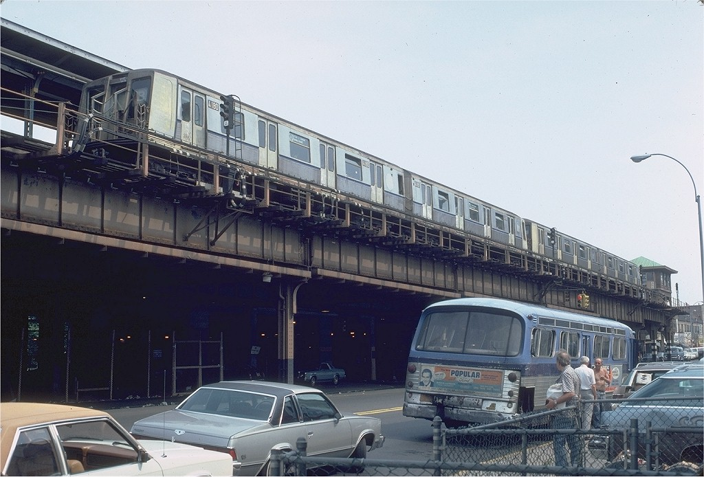 (195k, 1024x694)<br><b>Country:</b> United States<br><b>City:</b> New York<br><b>System:</b> New York City Transit<br><b>Location:</b> Coney Island/Stillwell Avenue<br><b>Route:</b> B<br><b>Car:</b> R-40 (St. Louis, 1968)  4180 <br><b>Photo by:</b> Steve Zabel<br><b>Collection of:</b> Joe Testagrose<br><b>Date:</b> 7/26/1981<br><b>Viewed (this week/total):</b> 2 / 7326