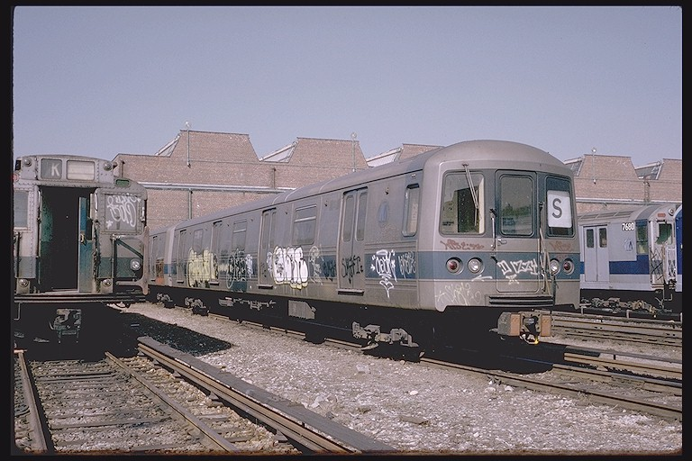 (129k, 768x512)<br><b>Country:</b> United States<br><b>City:</b> New York<br><b>System:</b> New York City Transit<br><b>Location:</b> Coney Island Yard<br><b>Car:</b> R-44 (St. Louis, 1971-73) 116 <br><b>Photo by:</b> Steve Zabel<br><b>Collection of:</b> Joe Testagrose<br><b>Date:</b> 3/20/1974<br><b>Viewed (this week/total):</b> 0 / 4520