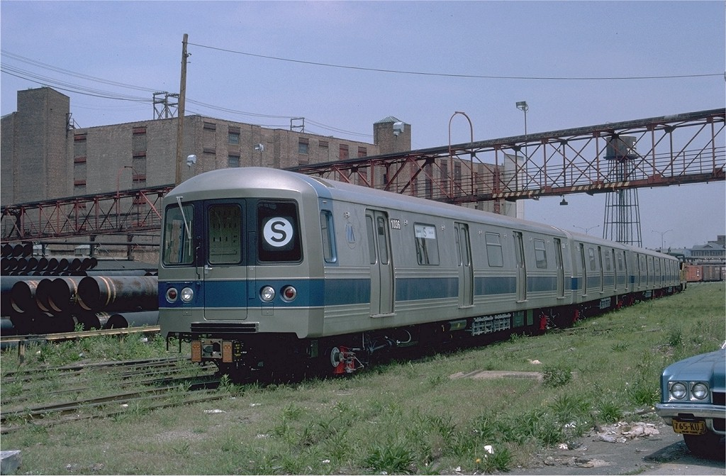 (213k, 1024x671)<br><b>Country:</b> United States<br><b>City:</b> New York<br><b>System:</b> New York City Transit<br><b>Line:</b> South Brooklyn Railway<br><b>Location:</b> Bush Terminal/New York Dock RR - 1st Ave & 51st (BTRR)<br><b>Car:</b> R-46 (Pullman-Standard, 1974-75) 1036 <br><b>Photo by:</b> Ed McKernan<br><b>Collection of:</b> Joe Testagrose<br><b>Date:</b> 5/25/1977<br><b>Viewed (this week/total):</b> 0 / 2575