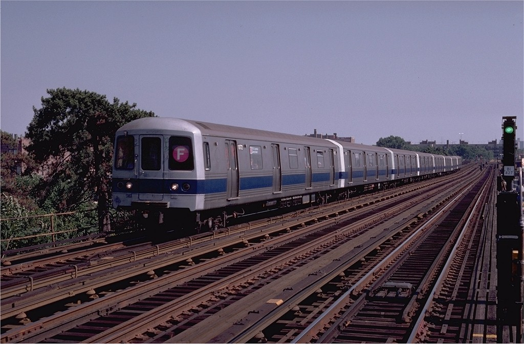 (201k, 1024x673)<br><b>Country:</b> United States<br><b>City:</b> New York<br><b>System:</b> New York City Transit<br><b>Line:</b> BMT Culver Line<br><b>Location:</b> Avenue P <br><b>Route:</b> F<br><b>Car:</b> R-46 (Pullman-Standard, 1974-75) 1072 <br><b>Photo by:</b> Joe Testagrose<br><b>Date:</b> 7/4/1980<br><b>Viewed (this week/total):</b> 0 / 3339