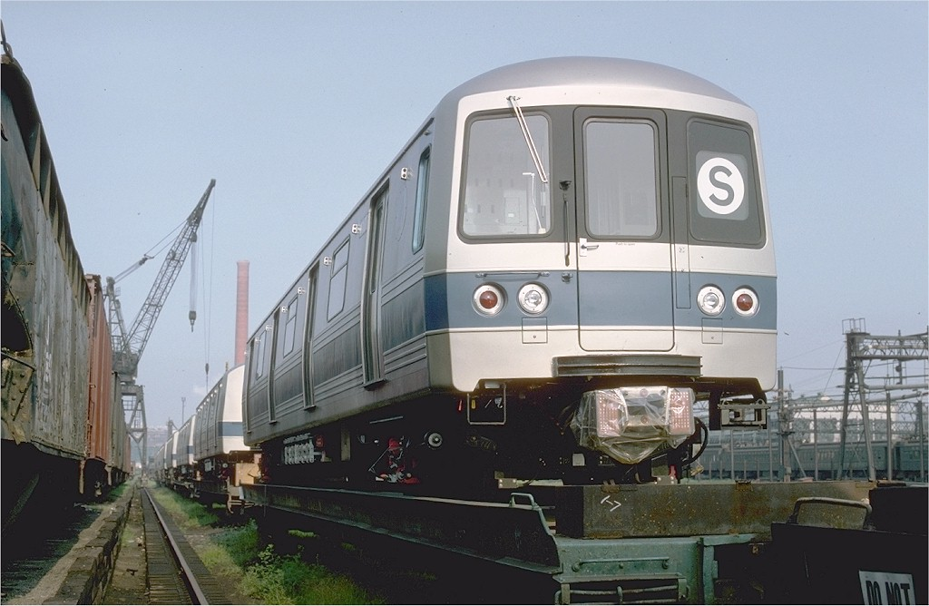 (159k, 1024x668)<br><b>Country:</b> United States<br><b>City:</b> Hoboken, NJ<br><b>System:</b> New York City Transit<br><b>Location:</b> Hoboken Yard <br><b>Car:</b> R-46 (Pullman-Standard, 1974-75) 1100 <br><b>Photo by:</b> Ed McKernan<br><b>Collection of:</b> Joe Testagrose<br><b>Date:</b> 8/5/1977<br><b>Viewed (this week/total):</b> 1 / 3432