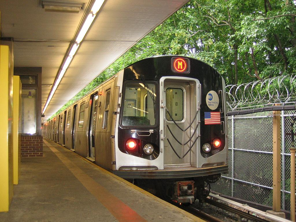 (205k, 1024x768)<br><b>Country:</b> United States<br><b>City:</b> New York<br><b>System:</b> New York City Transit<br><b>Line:</b> BMT Myrtle Avenue Line<br><b>Location:</b> Metropolitan Avenue <br><b>Route:</b> Shuttle<br><b>Car:</b> R-143 (Kawasaki, 2001-2002) 8121 <br><b>Photo by:</b> Michael Hodurski<br><b>Date:</b> 6/4/2006<br><b>Viewed (this week/total):</b> 0 / 3240