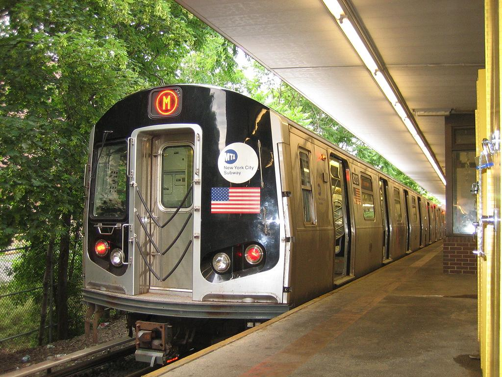 (186k, 1024x768)<br><b>Country:</b> United States<br><b>City:</b> New York<br><b>System:</b> New York City Transit<br><b>Line:</b> BMT Myrtle Avenue Line<br><b>Location:</b> Metropolitan Avenue <br><b>Route:</b> Shuttle<br><b>Car:</b> R-143 (Kawasaki, 2001-2002) 8213 <br><b>Photo by:</b> Michael Hodurski<br><b>Date:</b> 6/4/2006<br><b>Viewed (this week/total):</b> 0 / 3317