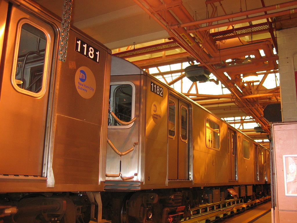 (144k, 1024x768)<br><b>Country:</b> United States<br><b>City:</b> New York<br><b>System:</b> New York City Transit<br><b>Location:</b> Coney Island Shop/Overhaul & Repair Shop<br><b>Car:</b> R-142 (Option Order, Bombardier, 2002-2003)  1182 <br><b>Photo by:</b> Michael Hodurski<br><b>Date:</b> 6/10/2006<br><b>Viewed (this week/total):</b> 3 / 3282
