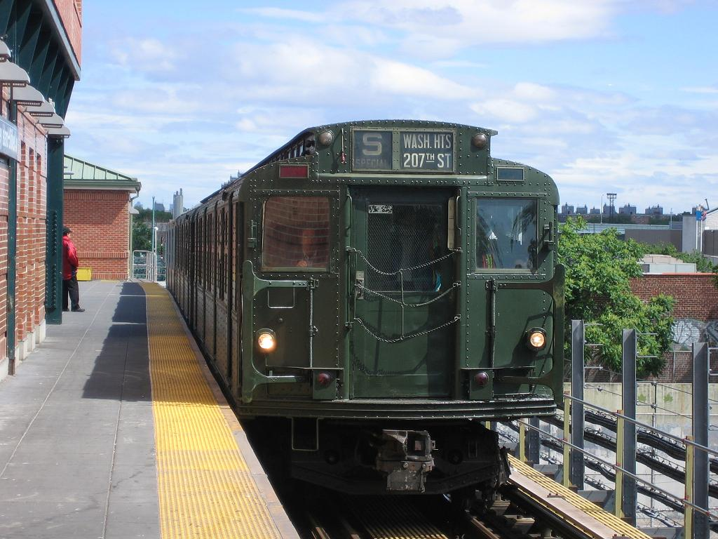 (138k, 1024x768)<br><b>Country:</b> United States<br><b>City:</b> New York<br><b>System:</b> New York City Transit<br><b>Location:</b> Coney Island/Stillwell Avenue<br><b>Route:</b> Fan Trip<br><b>Car:</b> R-1 (American Car & Foundry, 1930-1931) 381 <br><b>Photo by:</b> Michael Hodurski<br><b>Date:</b> 6/10/2006<br><b>Notes:</b> APTA convention special shuttle between Coney Island Yard and Stillwell Ave.<br><b>Viewed (this week/total):</b> 5 / 1708