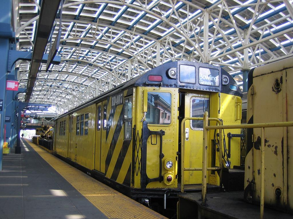 (190k, 1024x768)<br><b>Country:</b> United States<br><b>City:</b> New York<br><b>System:</b> New York City Transit<br><b>Location:</b> Coney Island/Stillwell Avenue<br><b>Route:</b> Work Service<br><b>Car:</b> R-161 Rider Car (ex-R-33)  RD407 (ex-8869)<br><b>Photo by:</b> Michael Hodurski<br><b>Date:</b> 6/10/2006<br><b>Viewed (this week/total):</b> 1 / 2617