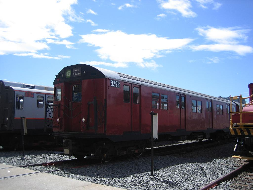 (107k, 1024x768)<br><b>Country:</b> United States<br><b>City:</b> New York<br><b>System:</b> New York City Transit<br><b>Location:</b> Coney Island Yard<br><b>Car:</b> R-30 (St. Louis, 1961) 8392 <br><b>Photo by:</b> Michael Hodurski<br><b>Date:</b> 6/10/2006<br><b>Viewed (this week/total):</b> 2 / 2412