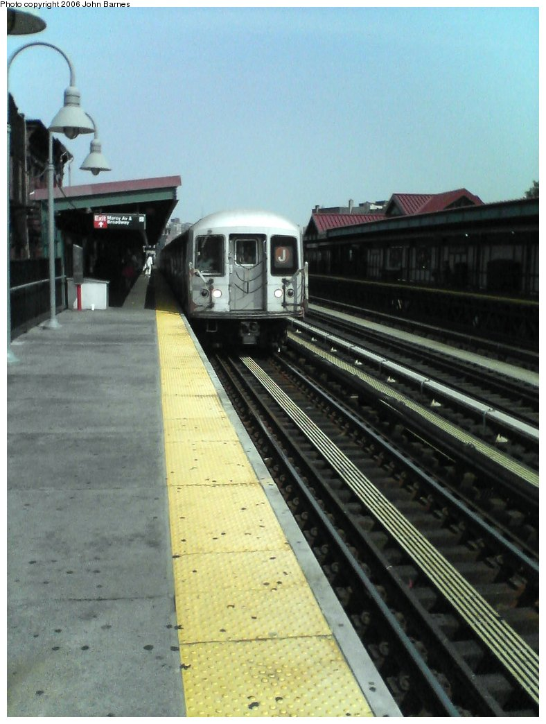 (143k, 788x1044)<br><b>Country:</b> United States<br><b>City:</b> New York<br><b>System:</b> New York City Transit<br><b>Line:</b> BMT Nassau Street/Jamaica Line<br><b>Location:</b> Marcy Avenue <br><b>Route:</b> J<br><b>Car:</b> R-42 (St. Louis, 1969-1970)  4649 <br><b>Photo by:</b> John Barnes<br><b>Date:</b> 7/10/2006<br><b>Viewed (this week/total):</b> 0 / 1747