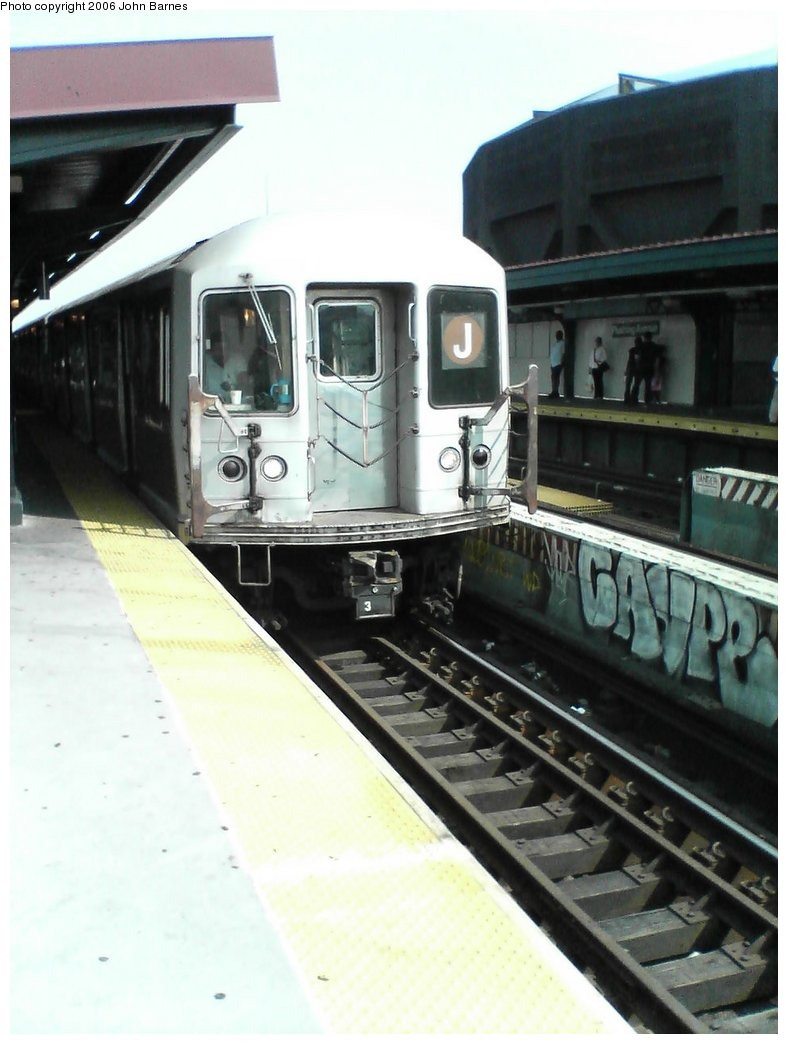 (121k, 788x1044)<br><b>Country:</b> United States<br><b>City:</b> New York<br><b>System:</b> New York City Transit<br><b>Line:</b> BMT Nassau Street/Jamaica Line<br><b>Location:</b> Flushing Avenue <br><b>Route:</b> J<br><b>Car:</b> R-42 (St. Louis, 1969-1970)  4741 <br><b>Photo by:</b> John Barnes<br><b>Date:</b> 7/10/2006<br><b>Viewed (this week/total):</b> 0 / 1695