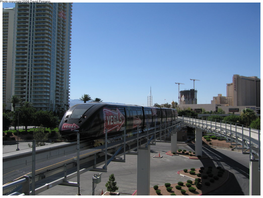 (157k, 1044x788)<br><b>Country:</b> United States<br><b>City:</b> Las Vegas, NV<br><b>System:</b> Las Vegas Monorail<br><b>Location:</b> Las Vegas Hilton <br><b>Photo by:</b> David Pirmann<br><b>Date:</b> 7/11/2006<br><b>Viewed (this week/total):</b> 7 / 1766