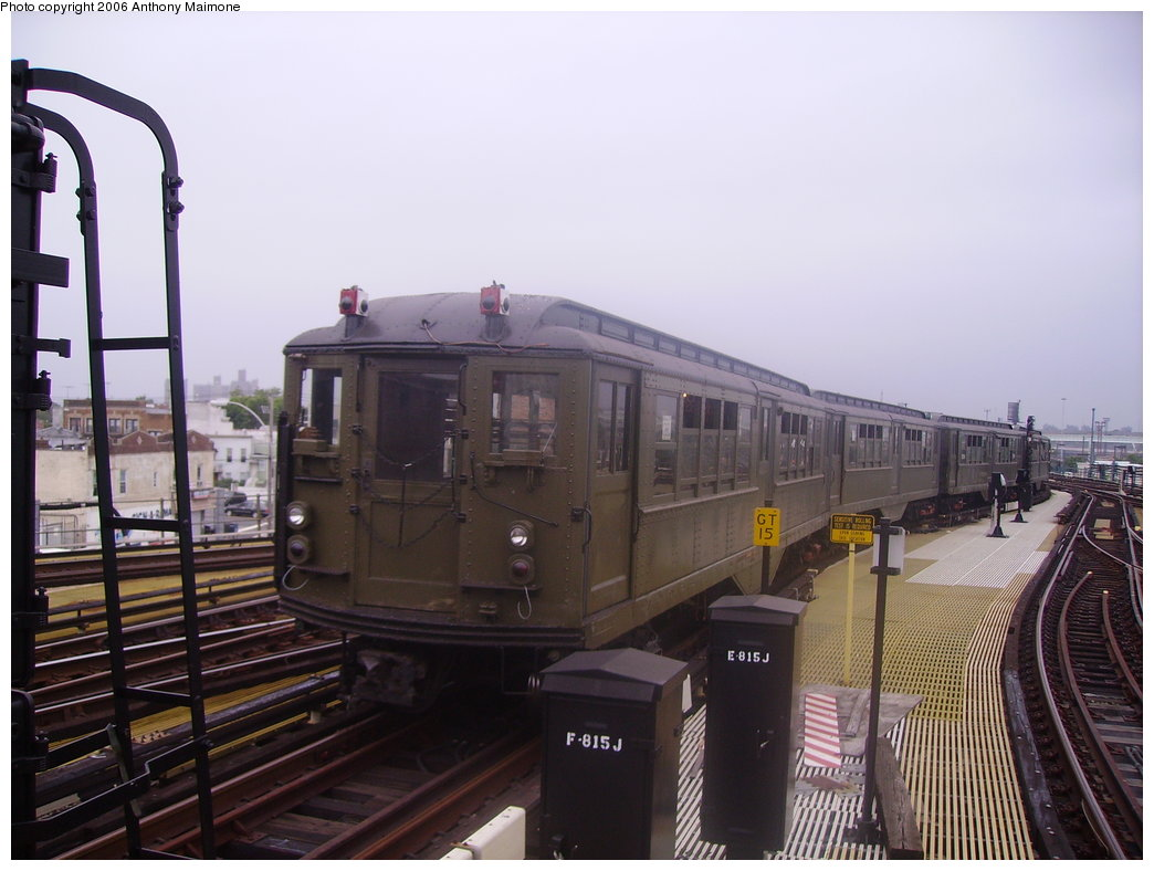 (161k, 1044x788)<br><b>Country:</b> United States<br><b>City:</b> New York<br><b>System:</b> New York City Transit<br><b>Location:</b> Coney Island/Stillwell Avenue<br><b>Route:</b> Fan Trip<br><b>Car:</b> Low-V (Museum Train)  <br><b>Photo by:</b> Anthony Maimone<br><b>Date:</b> 7/22/2006<br><b>Viewed (this week/total):</b> 0 / 1406