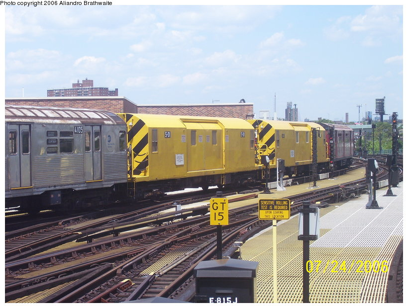 (143k, 820x620)<br><b>Country:</b> United States<br><b>City:</b> New York<br><b>System:</b> New York City Transit<br><b>Location:</b> Coney Island/Stillwell Avenue<br><b>Route:</b> Work Service<br><b>Car:</b> R-74 Signal Supply (Fuji Heavy Industries, 1984)  01 <br><b>Photo by:</b> Aliandro Brathwaite<br><b>Date:</b> 7/24/2006<br><b>Viewed (this week/total):</b> 4 / 2144