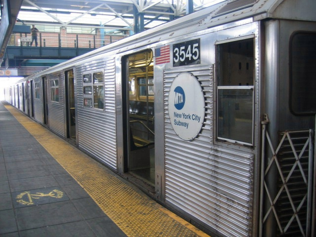 (154k, 640x480)<br><b>Country:</b> United States<br><b>City:</b> New York<br><b>System:</b> New York City Transit<br><b>Location:</b> Coney Island/Stillwell Avenue<br><b>Route:</b> F<br><b>Car:</b> R-32 (Budd, 1964)  3545 <br><b>Photo by:</b> Charles Ali<br><b>Date:</b> 7/22/2006<br><b>Viewed (this week/total):</b> 0 / 2715