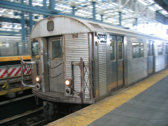 (133k, 640x480)<br><b>Country:</b> United States<br><b>City:</b> New York<br><b>System:</b> New York City Transit<br><b>Location:</b> Coney Island/Stillwell Avenue<br><b>Route:</b> F<br><b>Car:</b> R-32 (Budd, 1964)  3885 <br><b>Photo by:</b> Charles Ali<br><b>Date:</b> 7/22/2006<br><b>Viewed (this week/total):</b> 0 / 1589