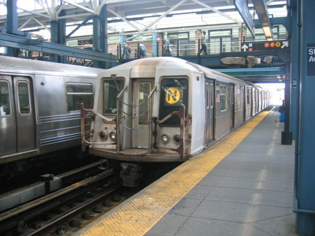 (141k, 640x480)<br><b>Country:</b> United States<br><b>City:</b> New York<br><b>System:</b> New York City Transit<br><b>Location:</b> Coney Island/Stillwell Avenue<br><b>Route:</b> N<br><b>Car:</b> R-40 (St. Louis, 1968)  4336 <br><b>Photo by:</b> Charles Ali<br><b>Date:</b> 7/22/2006<br><b>Viewed (this week/total):</b> 0 / 1641