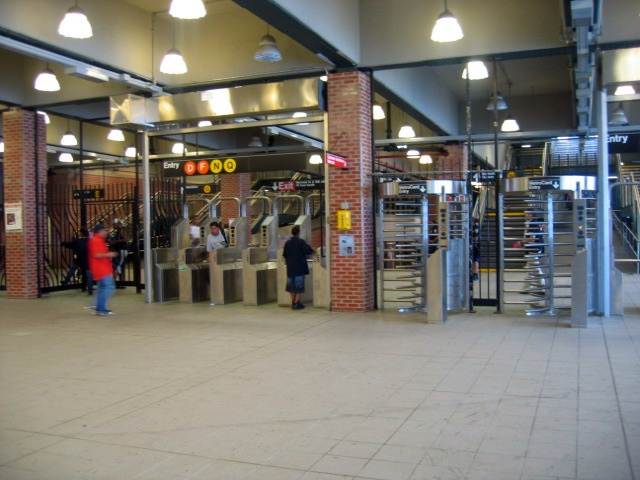 (128k, 640x480)<br><b>Country:</b> United States<br><b>City:</b> New York<br><b>System:</b> New York City Transit<br><b>Location:</b> Coney Island/Stillwell Avenue<br><b>Photo by:</b> Charles Ali<br><b>Date:</b> 7/22/2006<br><b>Notes:</b> Stillwell Avenue fare control area.<br><b>Viewed (this week/total):</b> 1 / 1394