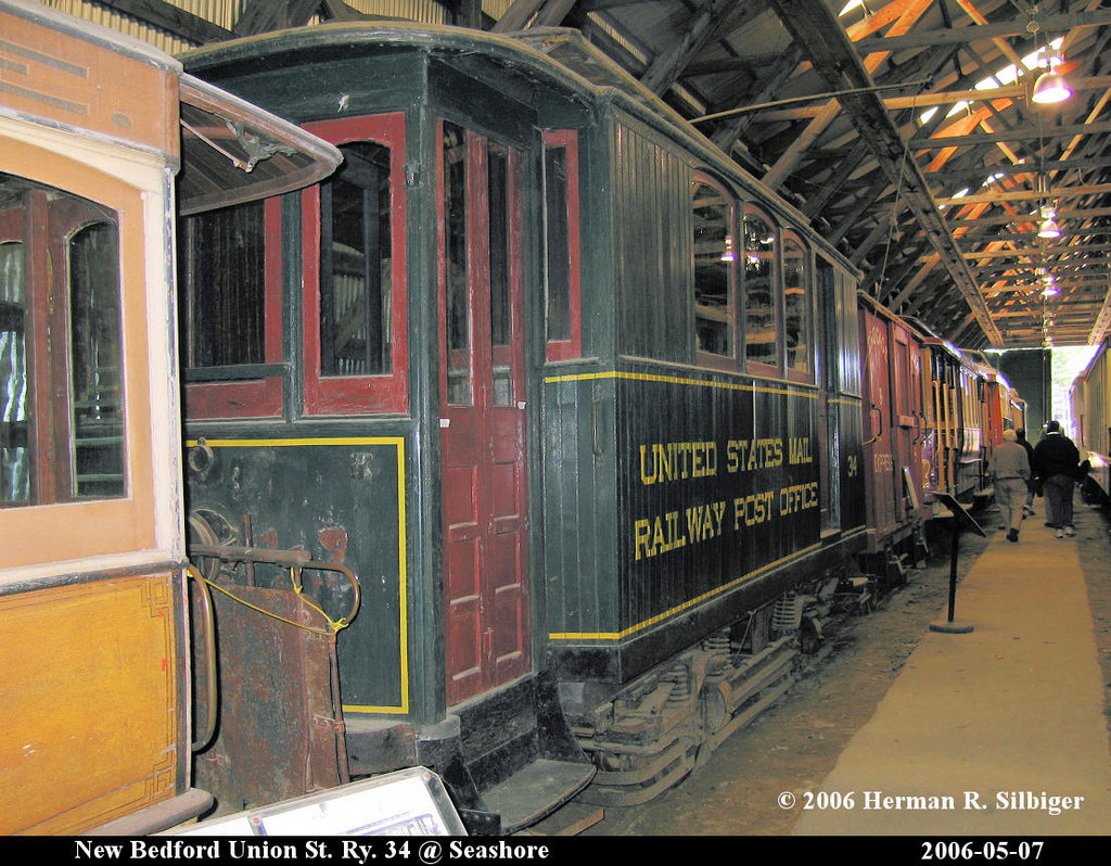 (281k, 1024x798)<br><b>Country:</b> United States<br><b>City:</b> Kennebunk, ME<br><b>System:</b> Seashore Trolley Museum <br><b>Car:</b> Union Street Railway 34 <br><b>Photo by:</b> Herman R. Silbiger<br><b>Date:</b> 5/7/2006<br><b>Viewed (this week/total):</b> 2 / 968