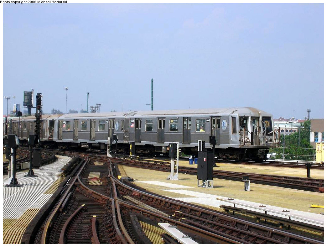 (218k, 1044x788)<br><b>Country:</b> United States<br><b>City:</b> New York<br><b>System:</b> New York City Transit<br><b>Location:</b> Coney Island/Stillwell Avenue<br><b>Route:</b> N<br><b>Car:</b> R-40 (St. Louis, 1968)  4448 <br><b>Photo by:</b> Michael Hodurski<br><b>Date:</b> 8/20/2006<br><b>Viewed (this week/total):</b> 1 / 2797