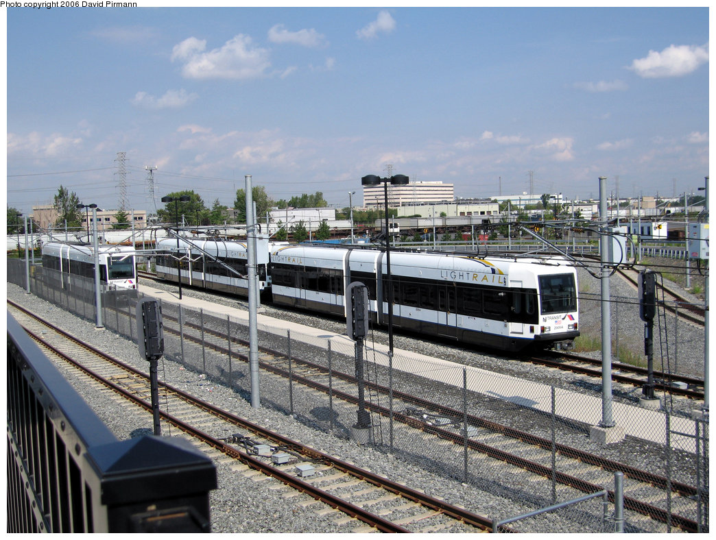 (300k, 1044x788)<br><b>Country:</b> United States<br><b>City:</b> North Bergen, NJ<br><b>System:</b> Hudson Bergen Light Rail<br><b>Location:</b> Tonnelle Avenue <br><b>Car:</b> NJT-HBLR LRV (Kinki-Sharyo, 1998-99)  2009 <br><b>Photo by:</b> David Pirmann<br><b>Date:</b> 9/28/2006<br><b>Viewed (this week/total):</b> 1 / 2110