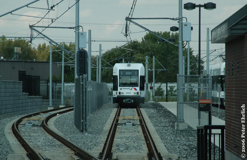 (214k, 864x559)<br><b>Country:</b> United States<br><b>City:</b> North Bergen, NJ<br><b>System:</b> Hudson Bergen Light Rail<br><b>Location:</b> Tonnelle Avenue <br><b>Car:</b> NJT-HBLR LRV (Kinki-Sharyo, 1998-99)  2050 <br><b>Photo by:</b> Peter Ehrlich<br><b>Date:</b> 9/28/2006<br><b>Viewed (this week/total):</b> 0 / 1718