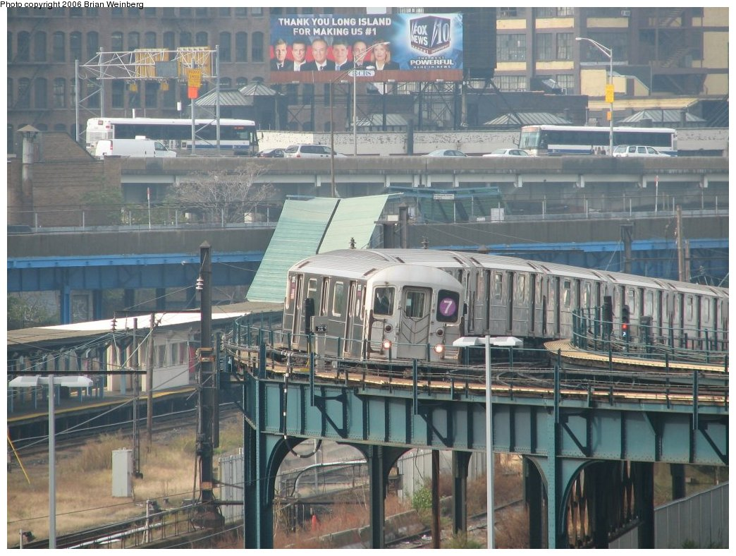 (198k, 1044x788)<br><b>Country:</b> United States<br><b>City:</b> New York<br><b>System:</b> New York City Transit<br><b>Line:</b> IRT Flushing Line<br><b>Location:</b> Court House Square/45th Road <br><b>Route:</b> 7<br><b>Car:</b> R-62A (Bombardier, 1984-1987)  2075 <br><b>Photo by:</b> Brian Weinberg<br><b>Date:</b> 10/18/2006<br><b>Viewed (this week/total):</b> 2 / 3282